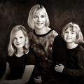 Mother-girls-portrait