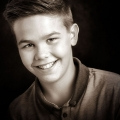 Sepia-portrait-teenage-boy